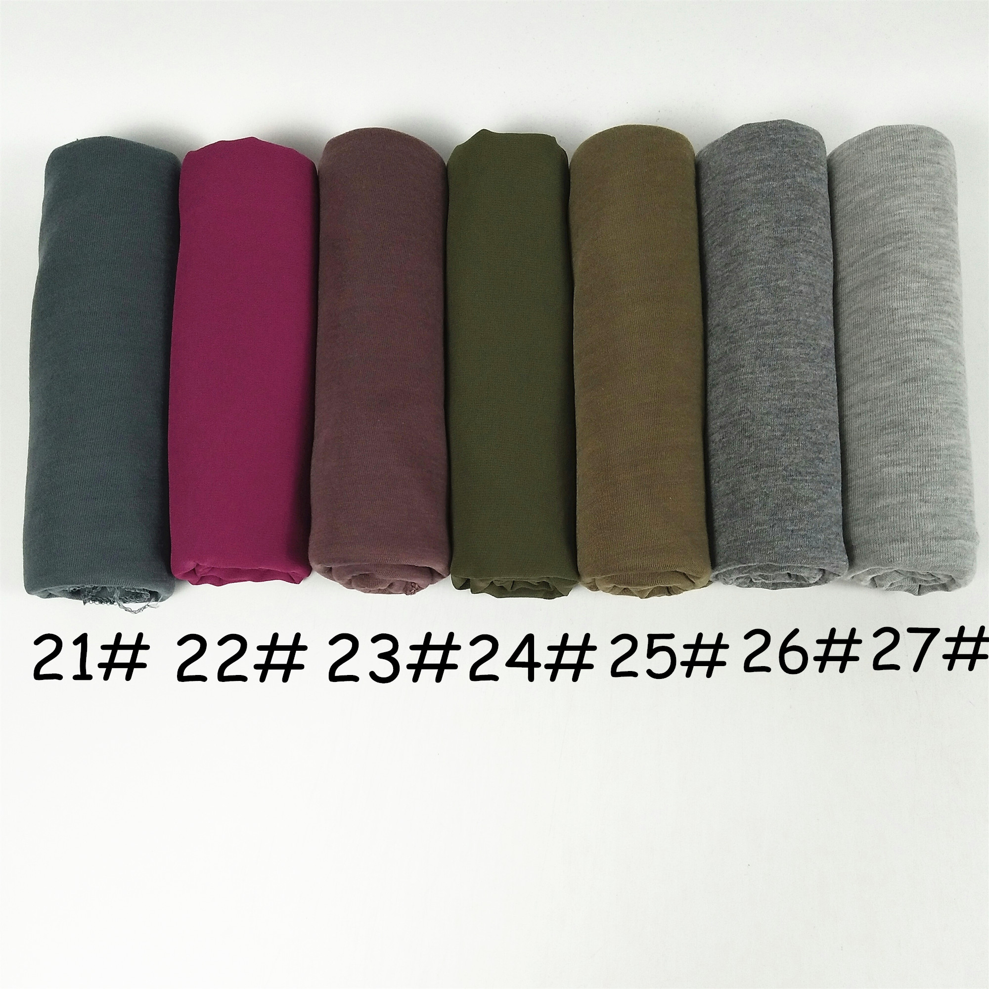 31color High Quality Jersey Scarf Cotton Plain Elasticity Shawls Maxi Hijab Long Muslim Head Wrap Long Scarves/scarf 10pcs/lot