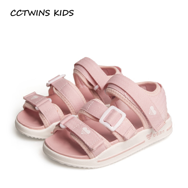 CCTWINS KIDS 2018 Summer Children Fashion Beach Sandal Baby Boy Pu Leather Shoe Girl Brand Barefoot Sandal Toddler BB038 recoil starter assembly for zenoah gw26i g260 26cc rc boat g290 g300 g320 pu pum puh pull starter assy komatsu part