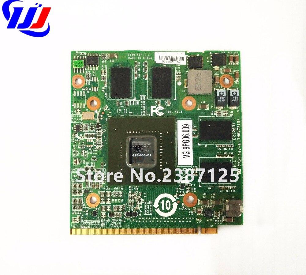 n V i d i a GeForce 9600M GT 1GB DDR2 G96-630-C1 Graphics Video Card for A c e r Aspire 4930G 6920G 6930G 7720G 8730G Laptop for acer aspire 5520g 6930g 7720g 7730g 4630g laptop n vidia geforce 9300m gs 256mb g98 630 u2 ddr2 mxm ii graphic video card