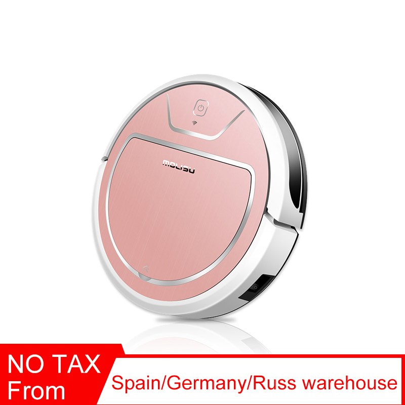 Robot Vacuum Cleaner 350ML Electronic Suction Sweep Dry and Wet 2000 Pa Intelligent Navigation APP Control Robotic Dust Cleaner image