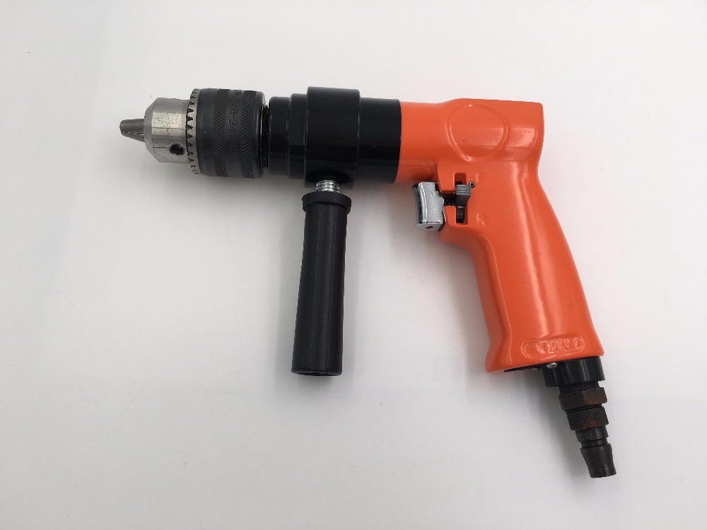 SAT7478 1/2 Reversible Air Drill Reversible Pneumatic Drills Air Impact Drill Tool Pneumatic Grinder Power Drilling Tool