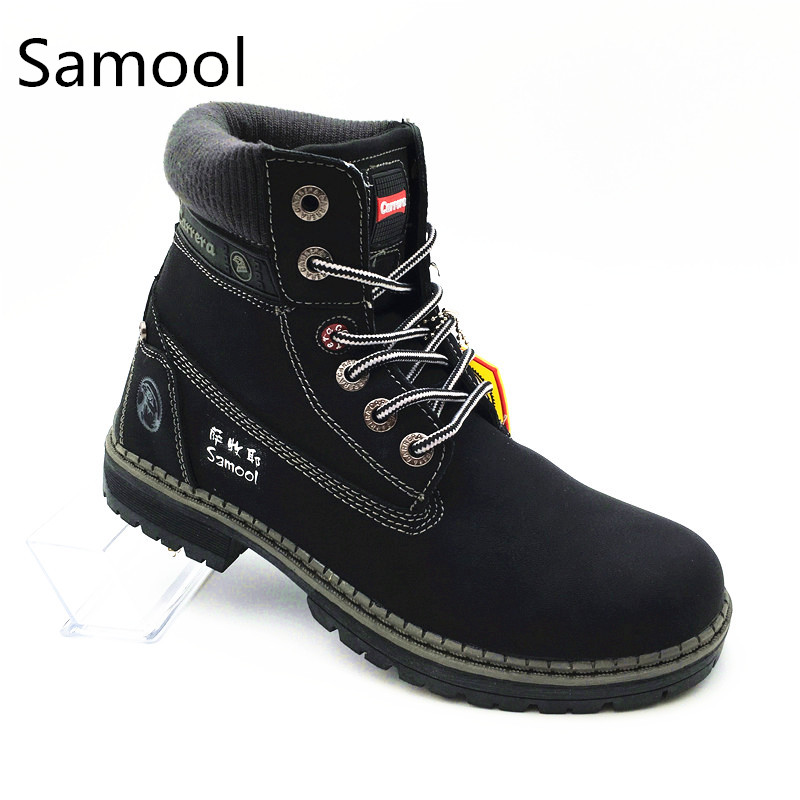 Women Martin Boot Round Toe Warm Snow Boots Women British style Winter Boots Fashion Winter Women casual leather Shoes xxz5 цены онлайн