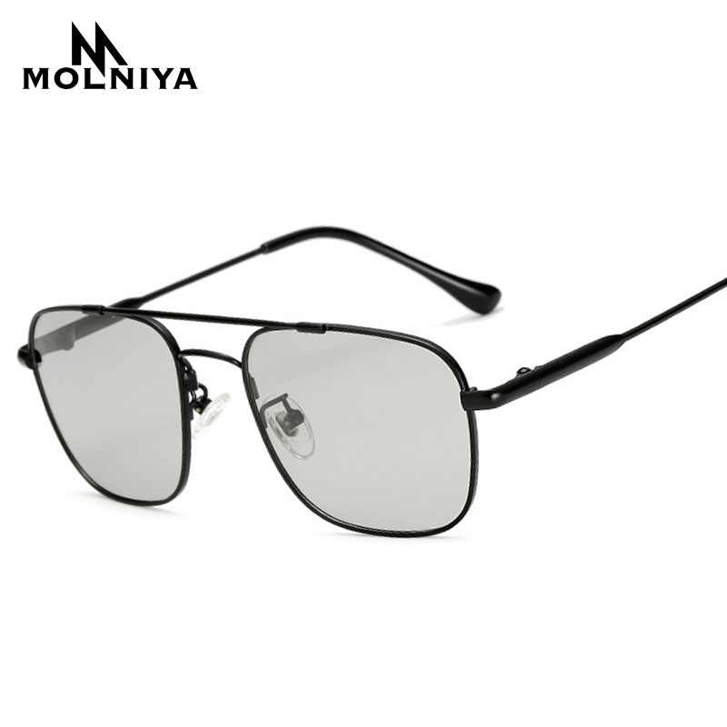 4a74a370acd MOLNIYA 2018 Unisex Classic Brand Sunglasses Men HD Polarized Memory Metal  Driving Male Sun Glasses Luxury
