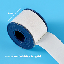 1 5Roll 2cmX2m Medical Adhesive Pressure Tape Fix Wound Dressing Breathable Tape For Outdoor Home First Aid Kits Accesories