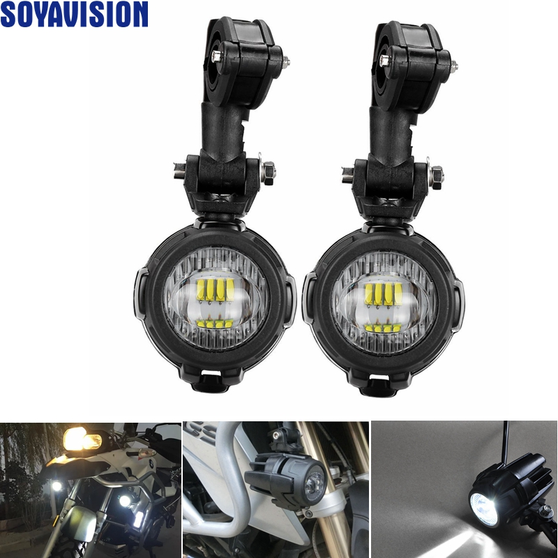 Best Sell Pair Universal Motorcycle Led Auxiliary Fog
