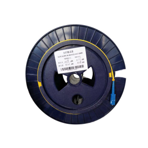 Image 4 - SC APC UPC 2KM 9/125 Single Bare fiber disk OTDR measuring 2KM OTDR test optical fiber reels Bare fiber Free shipping