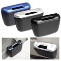2016 New Car Door Side Hanging Compartment Trash Barrel Debris Plastic Box Storage Car Stowing Tidying Accessories Hot Selling!