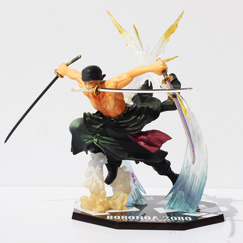 Anime Figure One Piece Roronoa Zoro 17CM PVC Banpresto Action Figure Collection Model Toy anime one piece dracula mihawk model garage kit pvc action figure classic collection toy doll