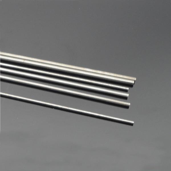 2pcs/lot M2/M2.5/M3/M4 Full Screw Thread Stainless Steel Rods 250mm DIY Rods Accessories akg pae5 m