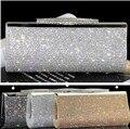Fábrica de Vender Boa Qualidade Mulheres Sacos de Noite de Embreagem Cheio de Diamantes de Luxo Strass Bling Do Casamento Saco Nupcial Bolsa de Ombro