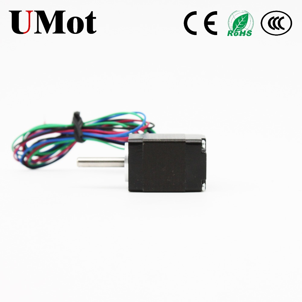 Free Shipping Nema 8 Stepper Motor 20mm Mini Motor 1 8 Degree 2PH 0 6A 18m Nm Step Motor with Pulse Driver for 3D Printer CNC in Stepper Motor from Home Improvement