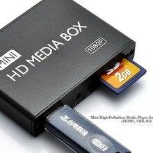 Full HD 1080P USB внешний медиаплеер с HDMI SD медиа-боксом Поддержка MKV H.264 RMVB WMV HDD медиаплеер для автомобиля HDDK7