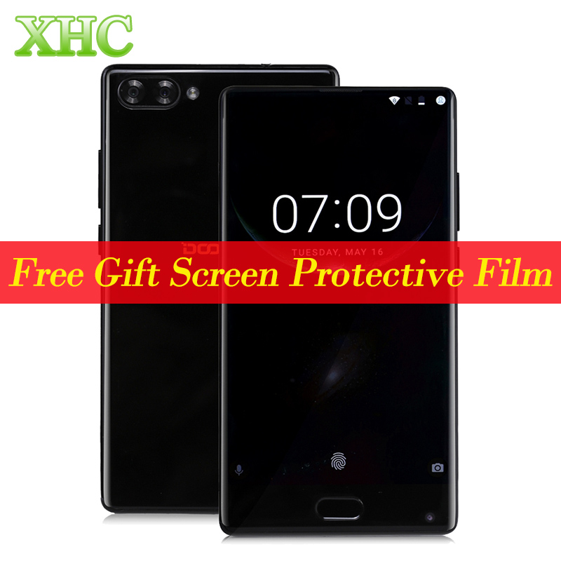 DOOGEE MIX 5.5 inch Android 7.0 Samrtphone Helio P25 Octa Core Dual Back Camera Phone Fingerprint Mobile Phone 4GB 64GB 3380mAh