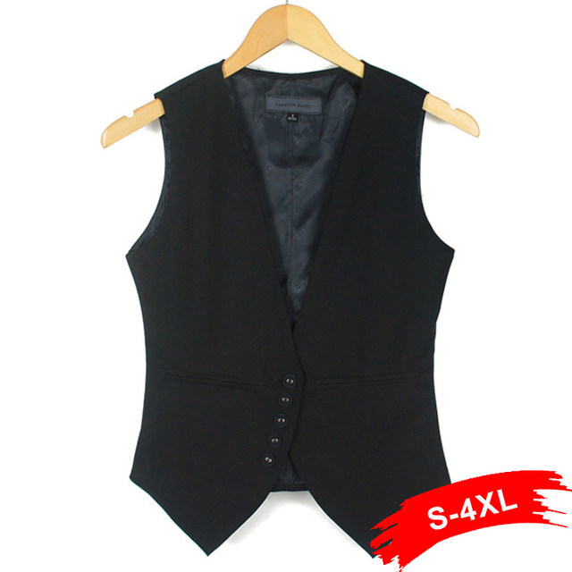 cardigan women denim Sleeveless vests for women Plus size Fashion women suit Waistcoat Casual Vest  Slim lady Vest size S-XXXL