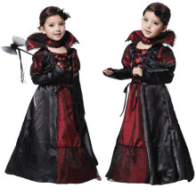 Children Girls Witch Costume Halloween Costume Princess Vampire Cosplay Dress Carnival Party Cosplay for Kids цены онлайн