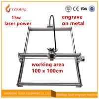 15w Laser Cutter Metal Marking Machine Support English Software Work Size 1 1m Laser Engraver Mark