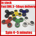Fidget Spinner toy finger spinner toy Hand tri spinner HandSpinner EDC Toy For Decompression Anxiety Toys with retailed box