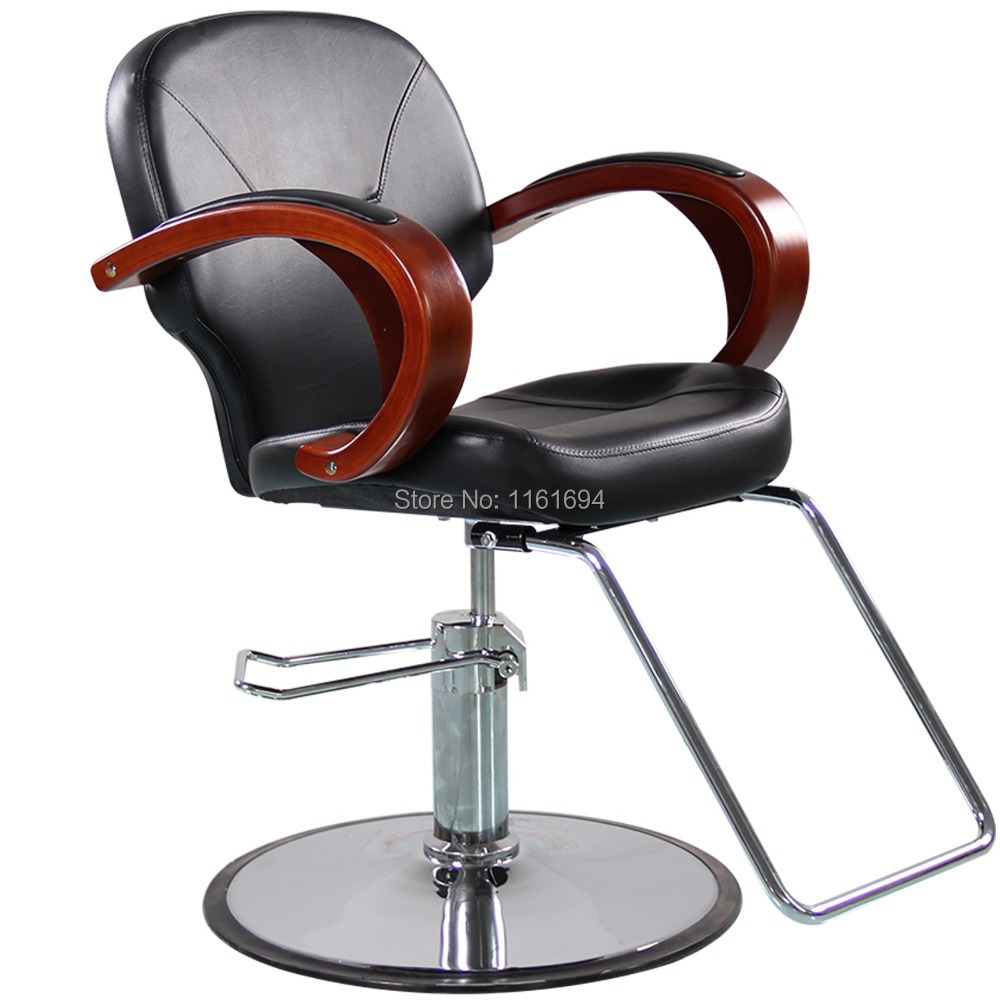 Hydraulic Styling Chair Us 199 99 Eastmagic Professional Hydraulic Styling Barber Chair Hair Beauty Salon Equipment In Barber Chairs From Furniture On Aliexpress