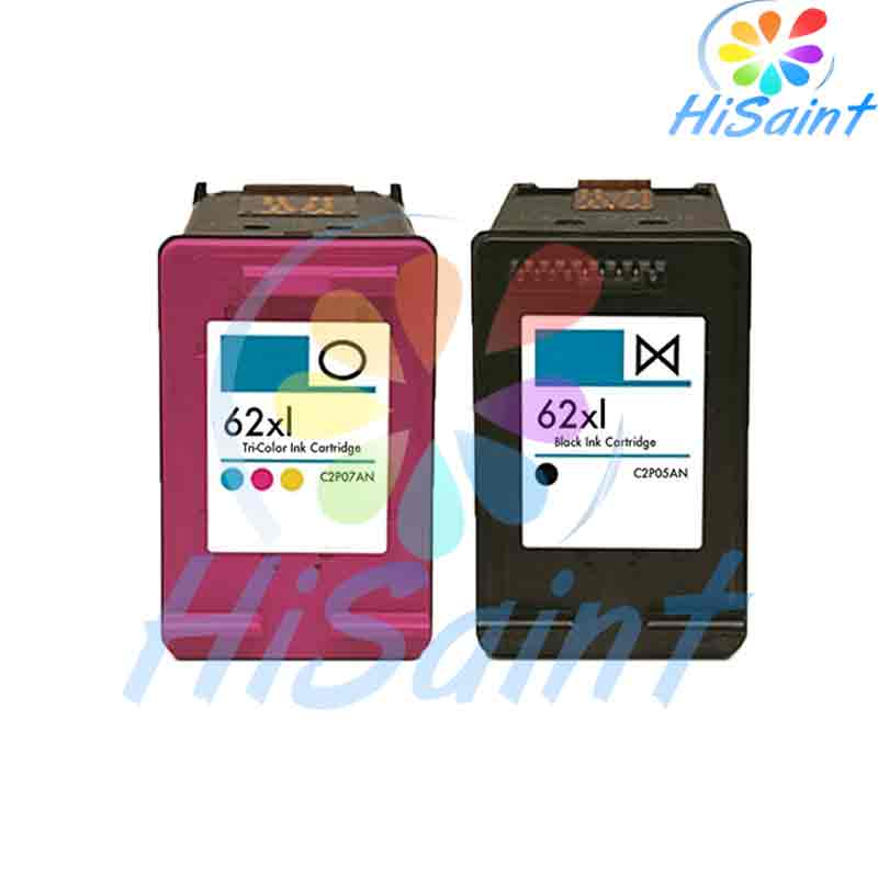 ФОТО HOT 1set high quality Remanufactured Ink Cartridge Replacements for HP 62XL C2P05AN For HP ENVY5640 For HP 5740 Free Shipping