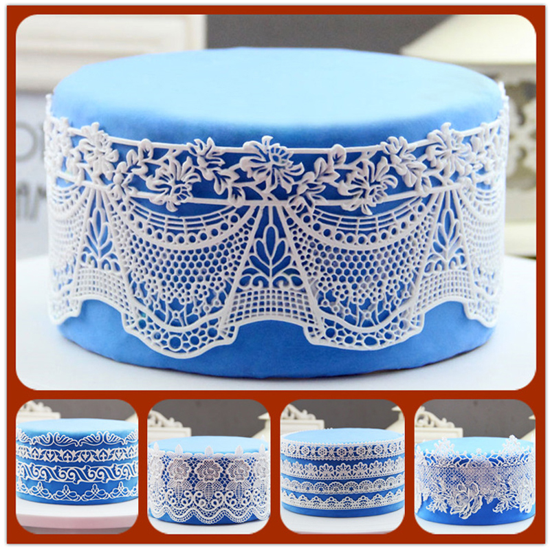 Silicone Cake Lace Mats Big Size Silicon Molds