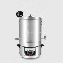 4L/5L/10L/15L Бытовая пивоварня, автоматическая машина для дистилляции вина, дистиллятор, ликер, оборудование для производства вина 220 В