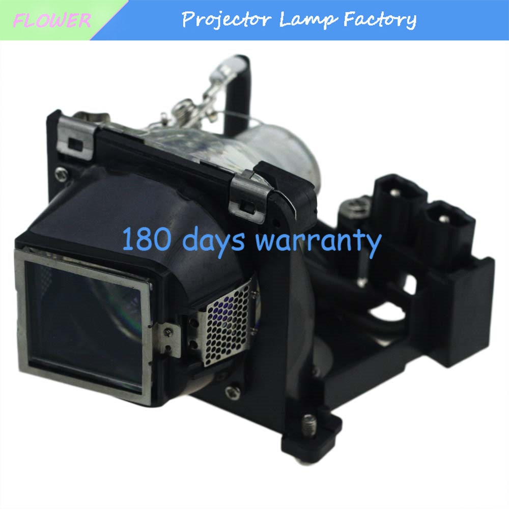 Compatible Projector lamp 310-7522 / 725-10092 with Housing for DELL 1200MP/1201MP 310 7522 725 10092 for dell 1200mp 1201mp compatible lamp with housing
