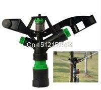 2Pcs 1 DN25 PVC Rotary Water Irrigation Gun Sprinkler Nozzle Lawn Head