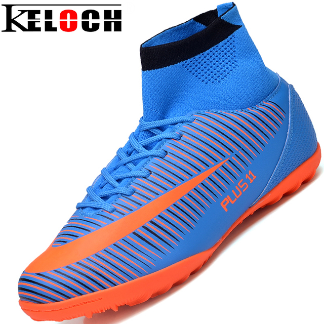 Keloch Fly Indoor Futsal Soccer Boots Sneakers Men Soccer Cleats Superfly Original Football Shoes Ankle Boots High Top