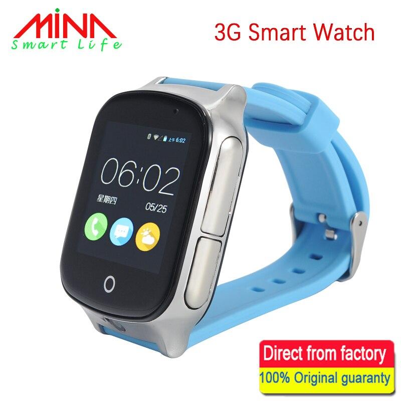 3G Smart Watch for Kids People Elderly GPS WIFI SOS LBS A19 GPS Watch Camera Locate