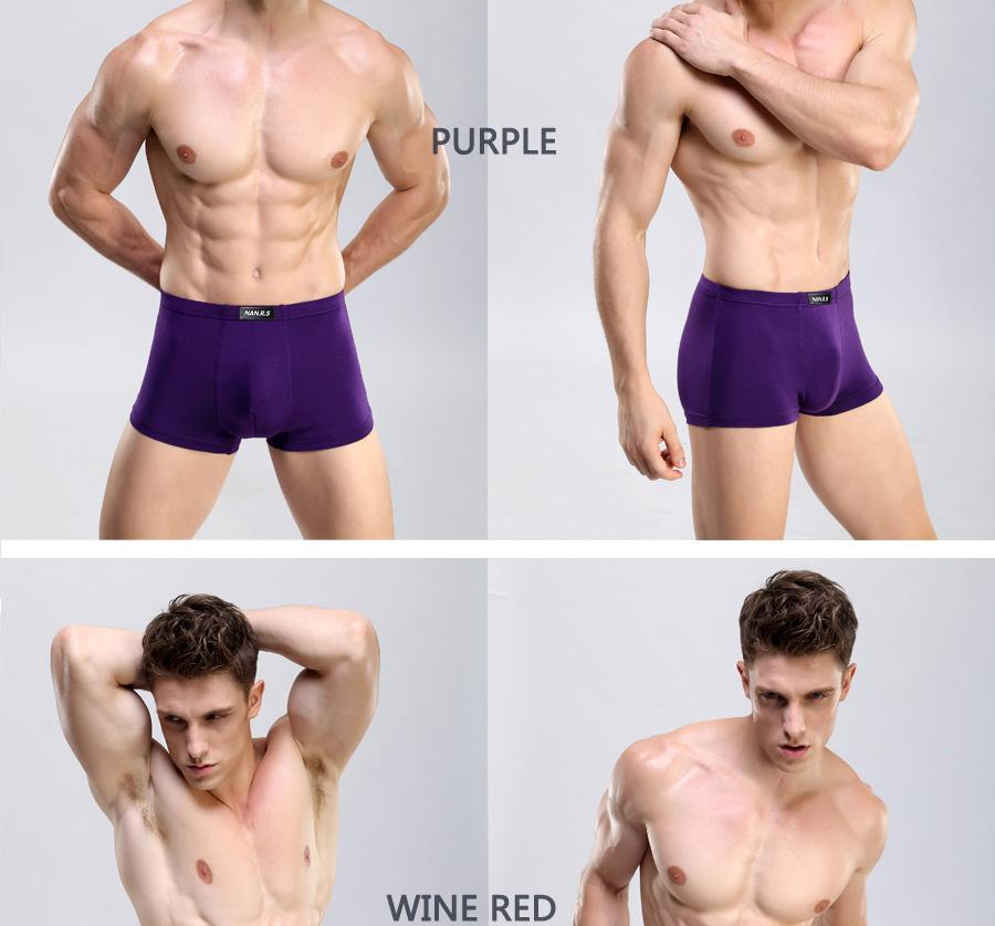 Bamboo Fibre Mens Underwear Boxer Shorts 36