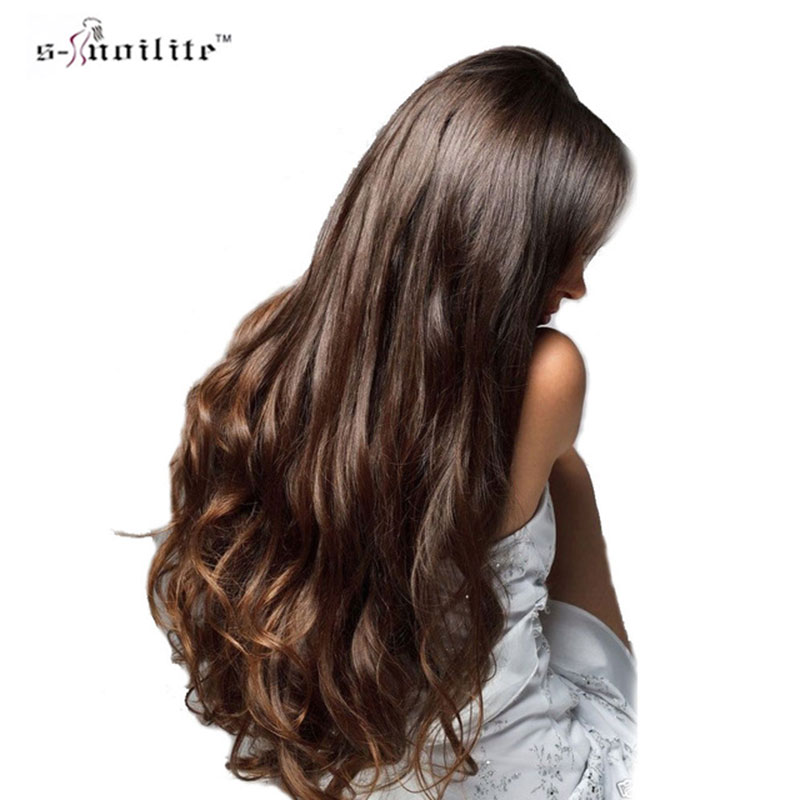 Hot Sale Snoilite 27inch Cosplay Synthetic Clip In Hair Piece Long