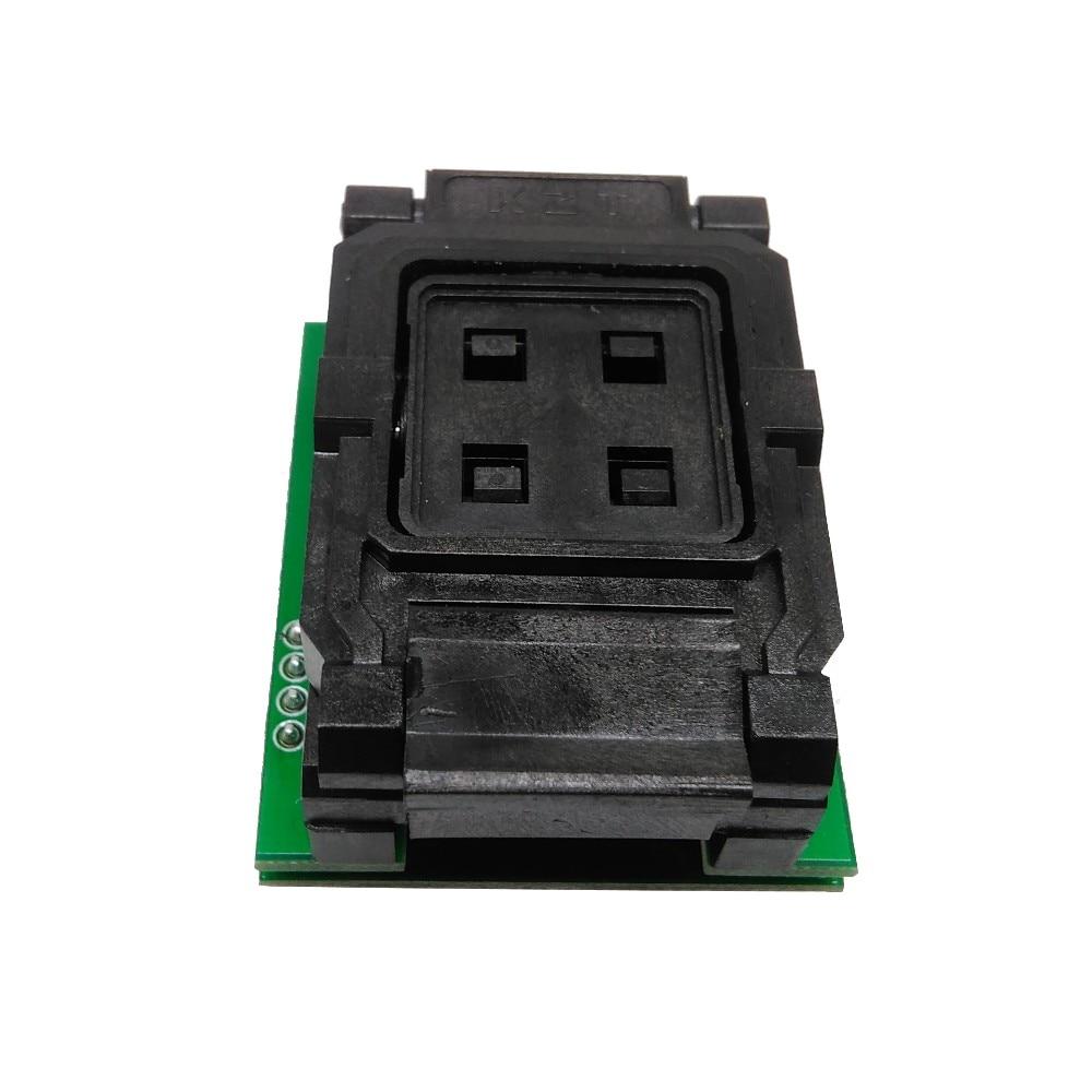 BGA24 à DIP8 IC adaptateur prise pour 8x6mm largeur du corps BGA puces SMT/SMD prise de Test - 3