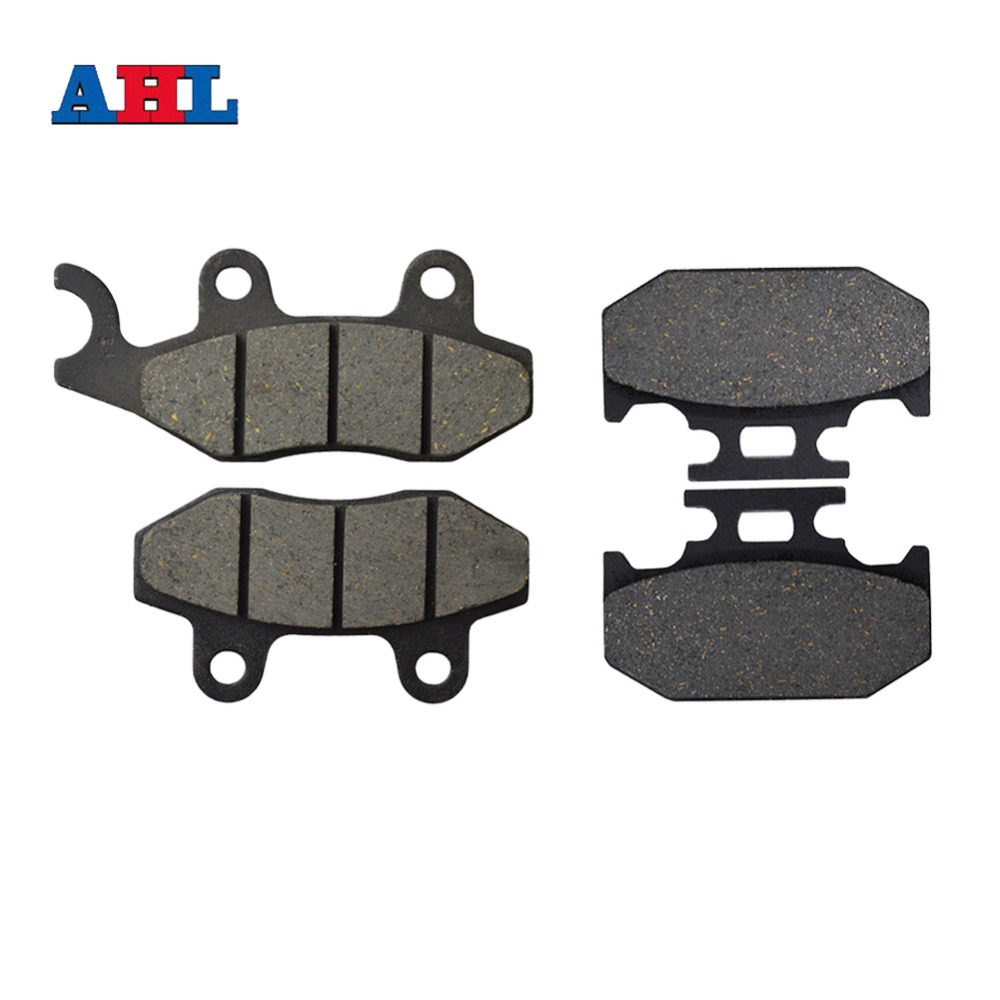 Motorcycle Parts Front Rear Brake Pads Kit For YAMAHA TTR250 TTR 250 L M N P R S T V YZ250 YZ 250 WRA A B D E F G H J