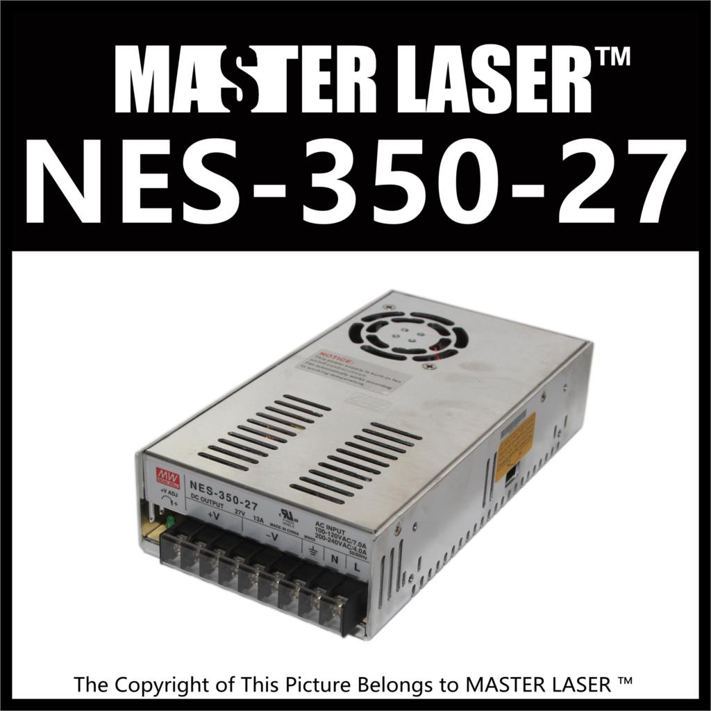Laser Cutting Marking Engraving Machine DIY Parts MeanWell MW NES-350-27 350W 27V Power Supply Switching Switch Power Supply haas часы haas khc 265 sea коллекция raviance