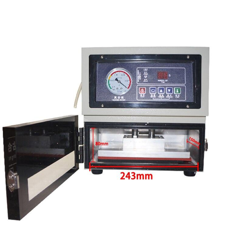 Купить с кэшбэком 8 inch Auto LCD repair machine LY 818 digital OCA laminating  for mobile phone screen  tools