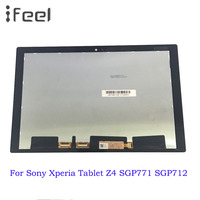 10.1'' LCD Display For Sony Xperia Tablet Z4 SGP771 SGP712 LCD Display Touch Screen Digitizer Panel Assembly Replacement