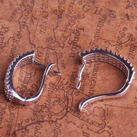 MECHOSEN karšto pardavimo kubiniai cirkonio auskarai moterims aukso - Mados papuošalai - Nuotrauka 5