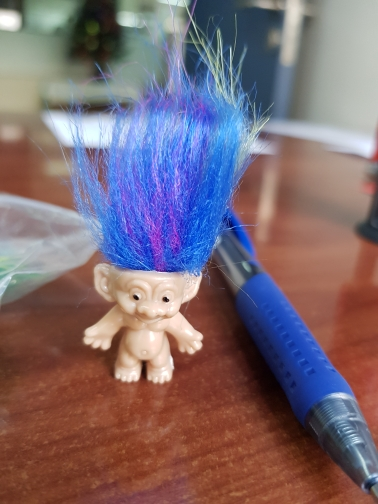 Hair Troll Family Members Daddy Mummy Baby Boys Girls Dam Anime Trolls Kids Toys for Children Birthday Gift