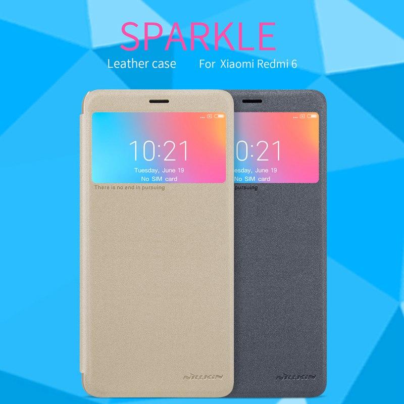 Flip capa para Xiaomi redmi 6