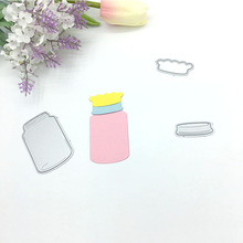 Julyarts New Cutting Dies 2019 Alinacrafts Bottle Metal For Scrapbooking Fustelle Metalliche Per