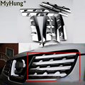 car-styling For Nissan Qashqai Dualis 2008-2013 Mouse Over Image To Zoom Front Grille Around Trim Chrome8pcs Per Set