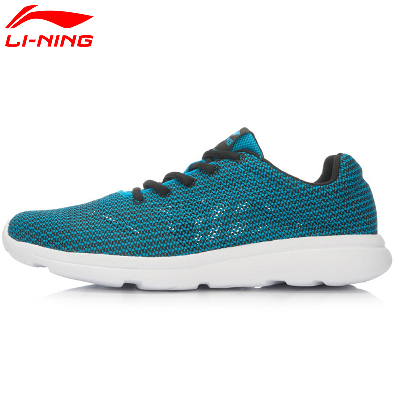 Li-Ning Men's Running Shoes Breathable Easy Run Sneakers EVA Outsole Footwear Soft LiNing Sports Shoes ARJL001 XYP431 original li ning men professional basketball shoes