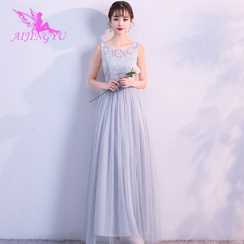 2018 sexy bridesmaid dress wedding guest formal dresses BN262