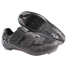 Carbon Fiber Cycling Shoes Bike Pro Road Shoes Self locking Athletics Road PU Bicycle Shoes Zapatillas