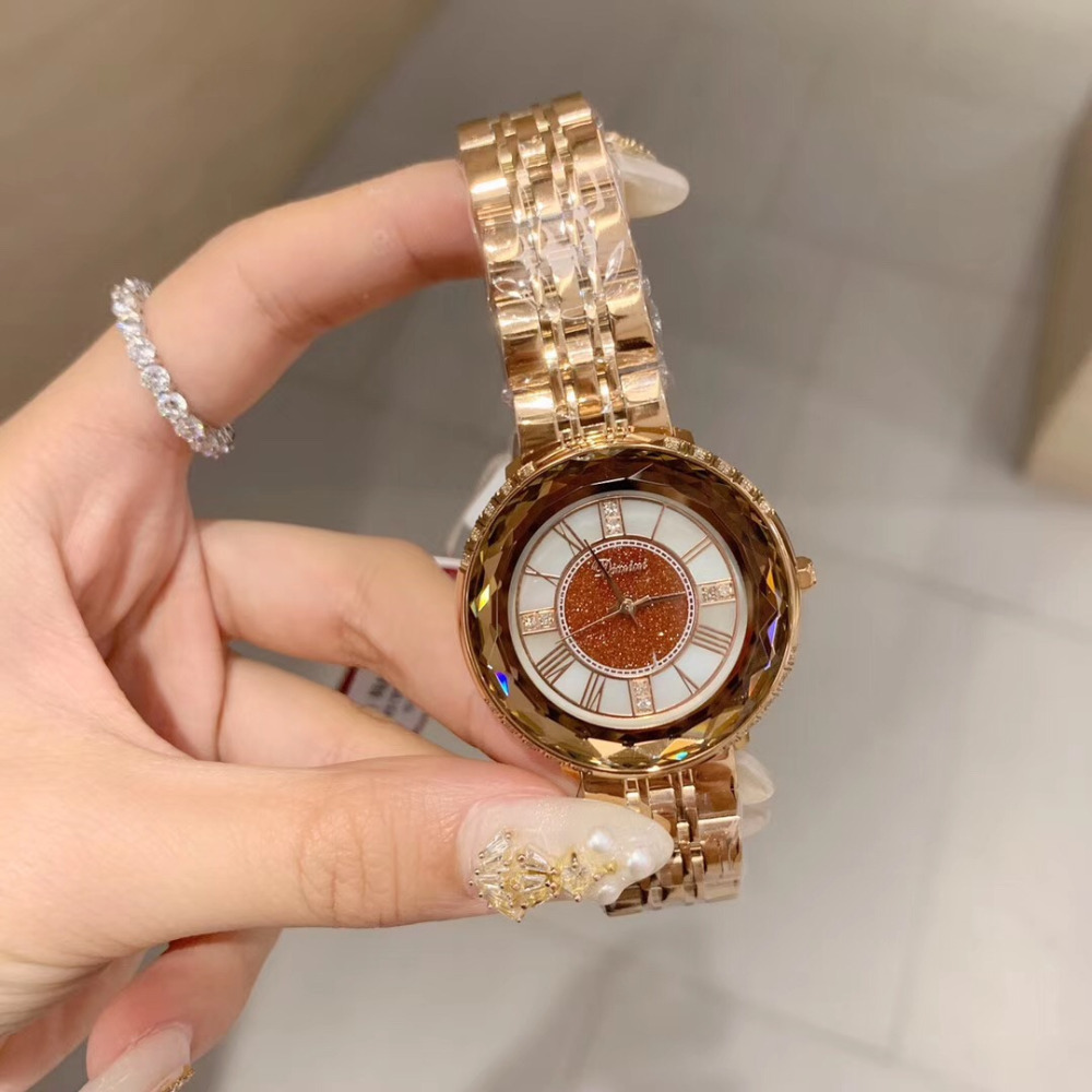 New Arrived Women Brand Full Steel Bracelet Watches Waterproof Roman Number Quartz Wrist watch Multi Faceted Crystal Glass WatchNew Arrived Women Brand Full Steel Bracelet Watches Waterproof Roman Number Quartz Wrist watch Multi Faceted Crystal Glass Watch