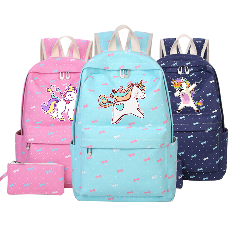 anime backpack with unicorn for school bag children unicorn Dab cartoon canvas bags for teenage girls cute pink kid rucksacks anime noragami aragoto yato backpack for teenage girls boys cartoon yukine children school bags casul book bag travel backpacks