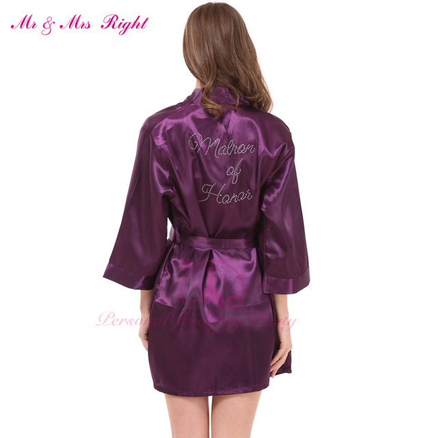 2016 Silk Kimono Robes For Women Satin Bathrobe Long Silk Robes For ...