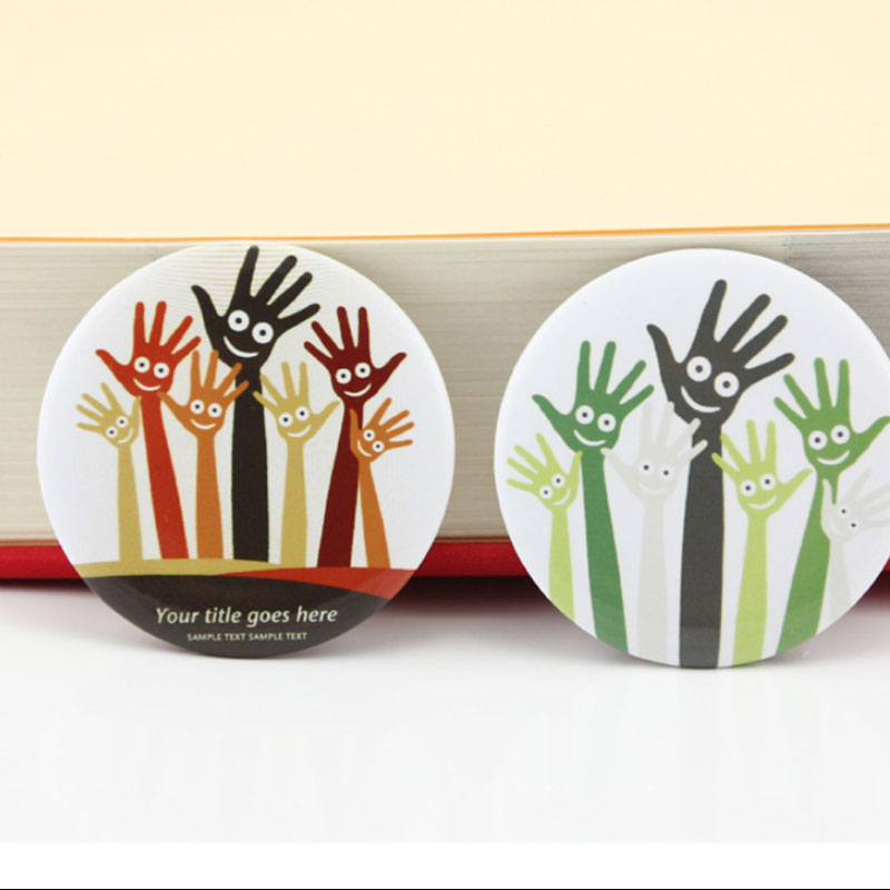 Tools : 1000 Sets Professional metal plastics Badge Maker Blank Pin Parts button badge material 25 32 37 44 50 56 58 75mm