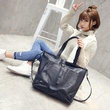 2017 fashion new Japanese and Korean style business Shoulder bag large capacity Messenger totes large women's bag