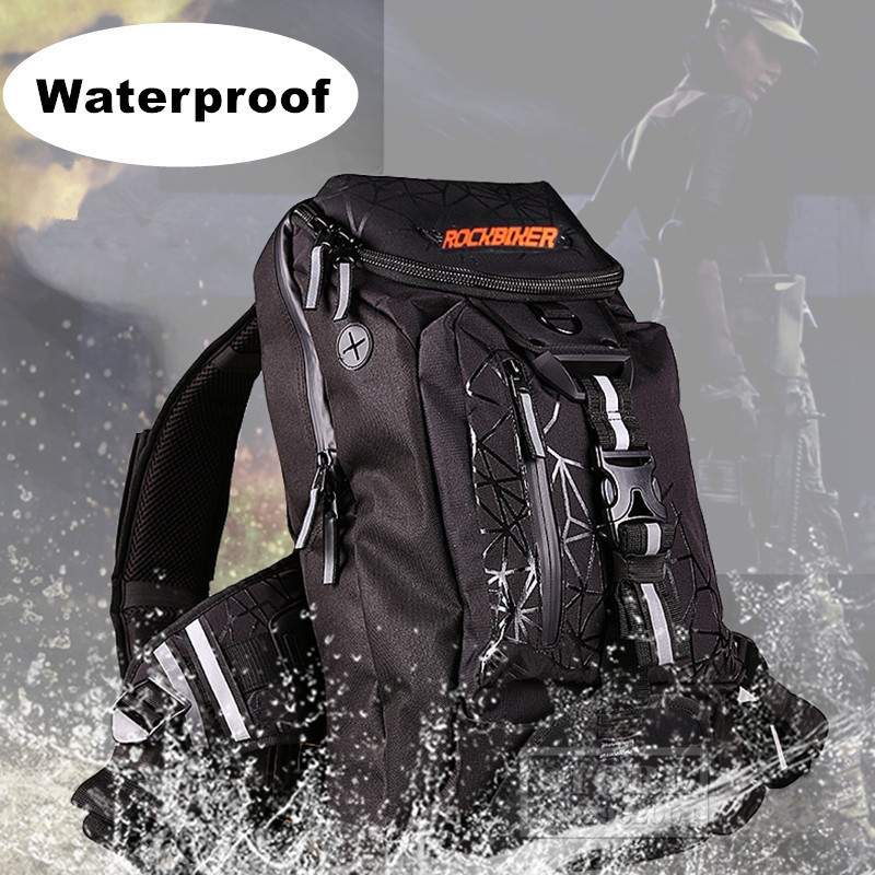 Waterproof Motorcycle Bag Motorcycle Daily Backpack Travel Bag motocross road riding motorbike backpacks men moto luggage Bag pro biker motorcycle saddle bag pattern luggage large capacity off road motorbike racing tool tail bags trip travel luggage